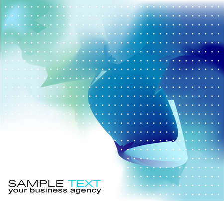 Abstract delicate business background for brochure or covers Illustration