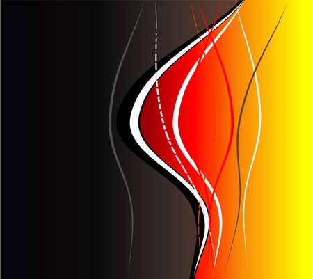 busines: Busines Fantasy background curves composition