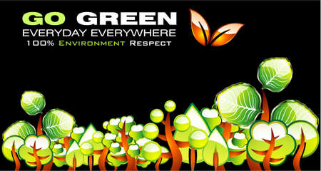 ozone friendly: Go green recycle and environment background