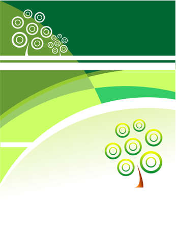 Green Growth business card template Vector