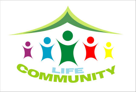 nonprofit: Life Community symbol colorful image
