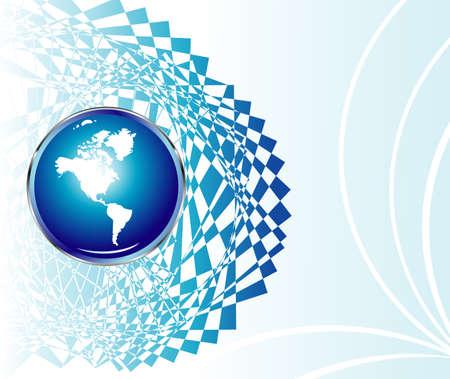 depliant: Earth Science Congress brochure or depliant     Illustration