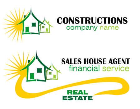 inspeccion: S�mbolo conceptual y Iconos para inmobiliaria