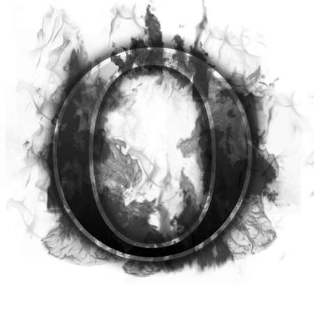 ardent: Burning Letter with true flames and smoke - other letters in my portfolio