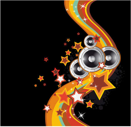 dance music: Dance and Music Event Achtergrond voor poster of brochure