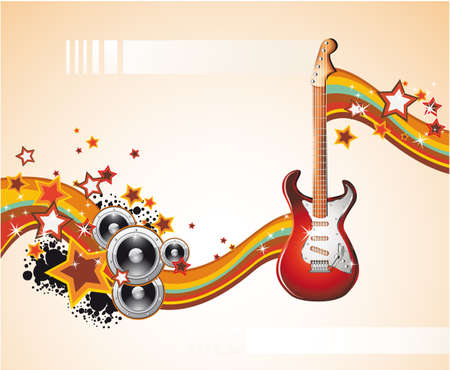 Dance and Music Event Background for poster or brochure Stock Vector - 5066084
