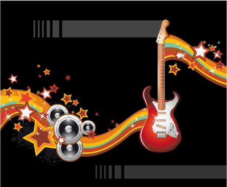 Dance and Music Event Background for poster or brochure Vector