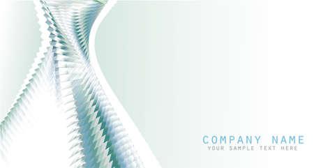 Futuristic Business Card delicate background Stock Vector - 5066083