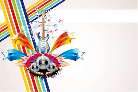 Dance and Music Event Background for poster or brochure Stock Vector - 5066078
