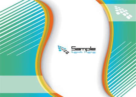 new yea: Fondo de Rainbow abstracta para negocios folleto o cubierta Vectores