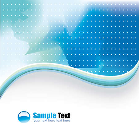 depliant: Colorful Lines Background for Business Brochure or Flyers