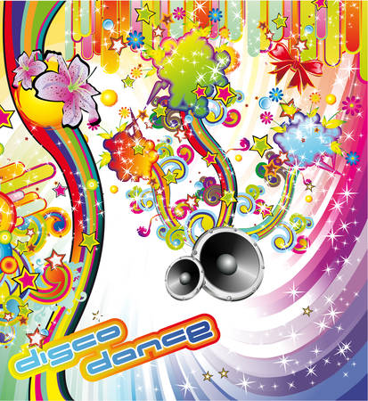 Music Party Flyer Vector