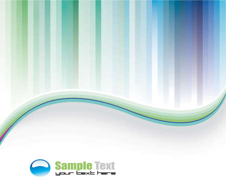 web page elements: Colorful Lines Background for Business Brochure or Flyers