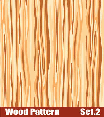 Background of a colorful Wood patter Vector