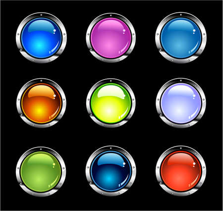 submit: Button SEt of glossy buttons