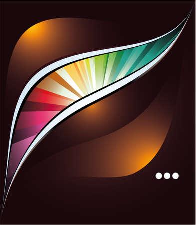 depliant: Magic Lights Business Colorful Background Illustration