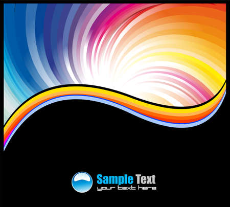 depliant: Colorful Abstract Business Card backgrounds for flyers and covers