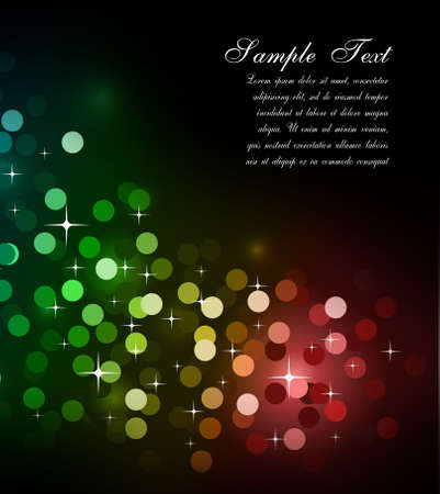 Elegant Colorful Glitter Abstrat Lights for Flyers Background  Stock Photo - 6169046