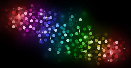 Elegant Colorful Glitter Abstrat Lights for Flyers Background Stock Photo - 6169044