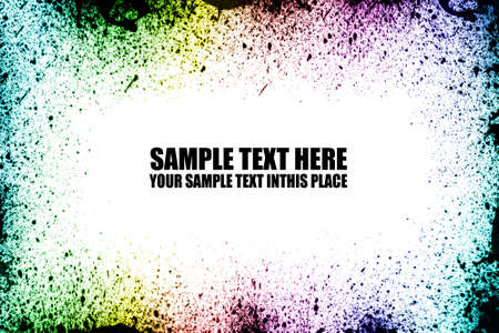 Abstract Drops Explosion with white space for text Stock Photo - 9894392