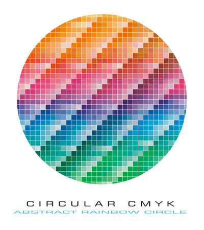 Pantone CMYK colours palette for Abstract Background Stock Vector - 7719462