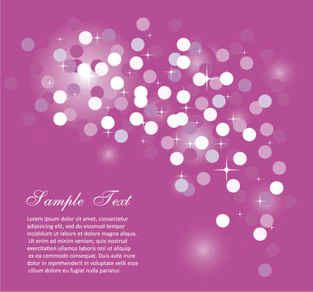 Elegant Colorful Glitter Abstrat Lights for Flyers Background  Vector