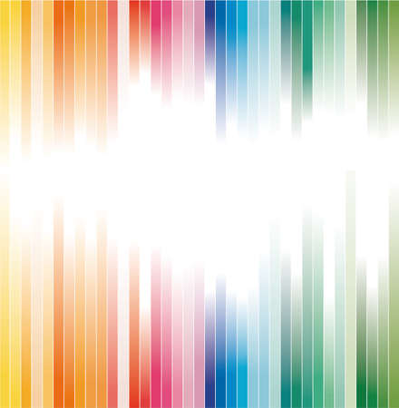 curve lines: Abstract Rainbow Colours Striped background for Brochure or Flyers