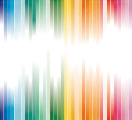 Abstract Colorful Striped Business Background for Brochure or Flyers Stock Vector - 7719449