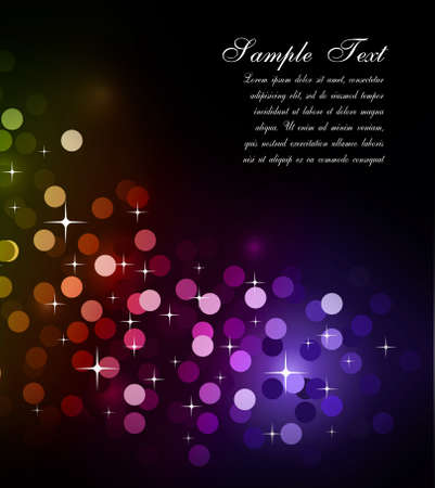 Elegant Colorful Glitter Abstrat Lights for Flyers Background Stock Photo - 7825323
