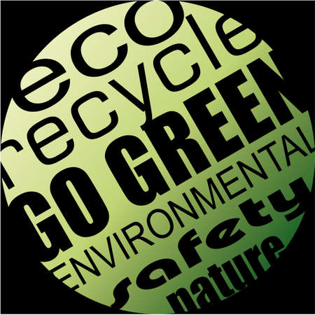 eco slogan: Abstract Environment and Eco Background for Green Flyers