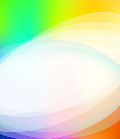 rainbow colours: Colorful Business Brochure Background with Rainbow Colours and delicate gradients Illustration