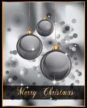 Elegant Christmas Backgruond with Golden details Stock Vector - 8310182