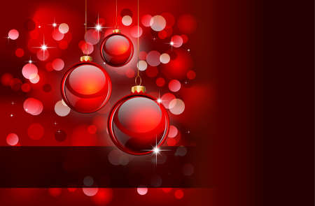 Elegant Christmas Backgruond with Golden details Vector