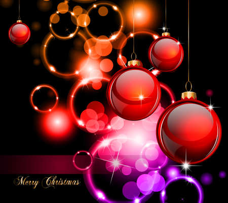 backgruond: Elegant Christmas Backgruond with Golden details