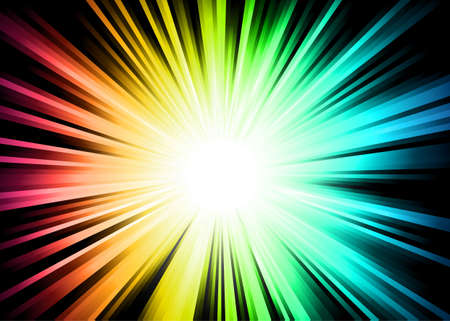 Light Sparkle background with Rainbow Colours Stock Vector - 8310248