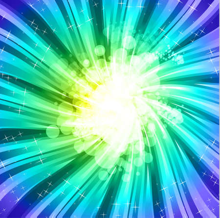 new yea: Fondo de espectro de Rainbow abstracta de folleto o volantes Vectores