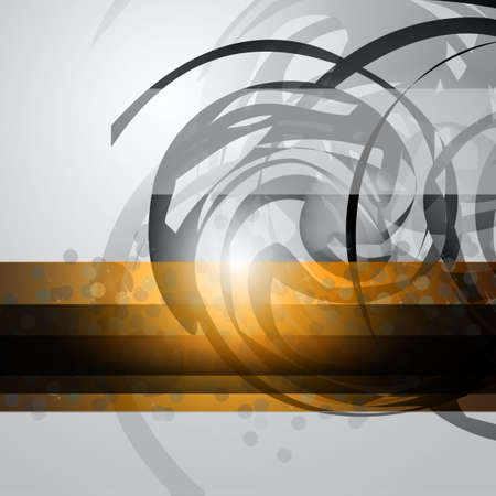 Abstract Business Corporate Background with Abstract Shapes motive