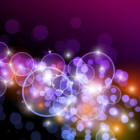 Glow of Lights with rainbow colurs for alternative style background Stock Vector - 8619717