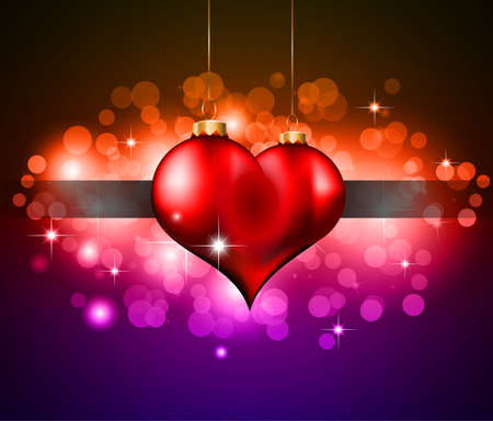 Abstract Colorful Background For Valentine's day Flyer Stock Vector - 8619684