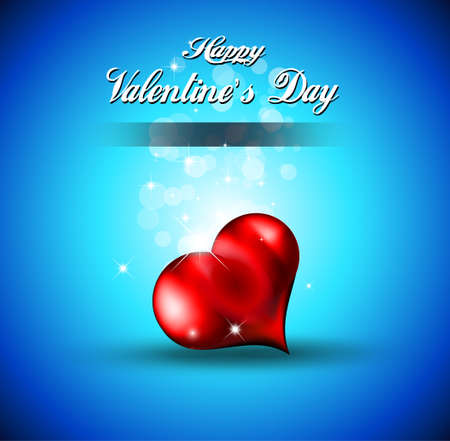 Lonely Heart Background for Valentines Stylish flyer Vector