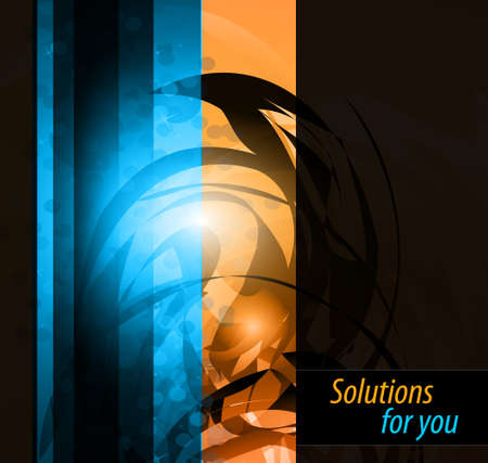 hitech: Hitech Abstract Business Background with Abstract Glowing motive