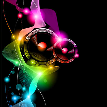 Alternative Disco Flyer for International Music Event Vector