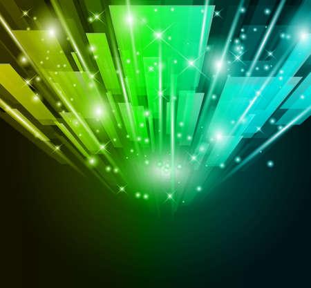 vibrant colors fun: Astratto bagliore delle luci per Business o volantini Corporate sfondo.