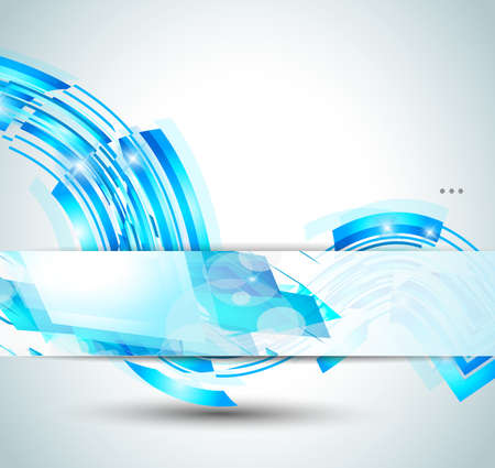 motion blur: Delicate blue abstract background for stylish business flyer or corporate promotional posters or website header. Illustration