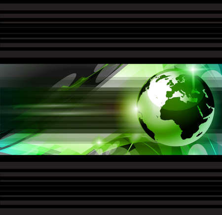 worldwide web: Hitech Abstract Business Background with Abstract Glowing motive to use for corporate presentation flyers or posters.