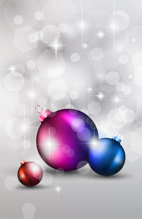 Merry Christmas Elegant Suggestive Background for Greetings Card or Advertising Banner Vector