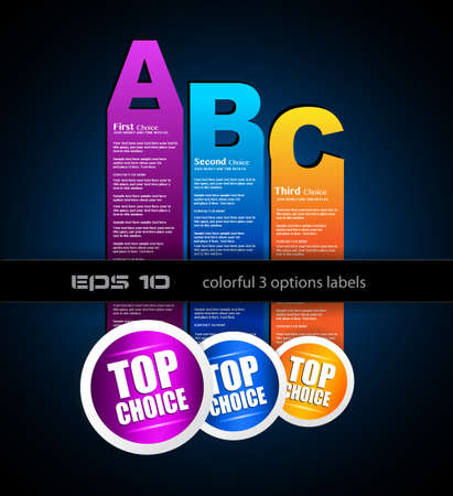 Ranking Papers Tag for Global Classifications of top choice corporates! Idea for business presentation Stock Vector - 14094337