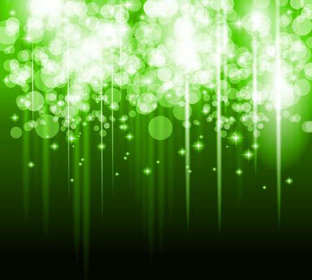 오로라: 줄무늬 빛과 빛나는 별의 흐름과 추상 미래의 배경입니다. 커버, 브로셔 또는 포스터에 적합합니다.