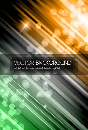 Abstract Glow of Lights background with rainbow colors and starlights. Ideal for business background, high tech covers of abstract advertising posters. Vector