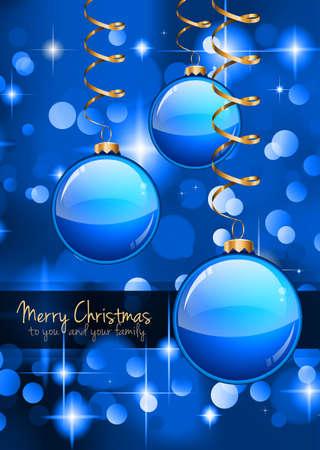 fita: Feliz Natal folheto com fundo glittert com um monte de elementos decorados de Natal. Ideal para celebratiion ou convite panfletos.